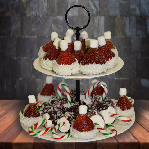 Santa's Hats - Chocolate Dipped Strawberries