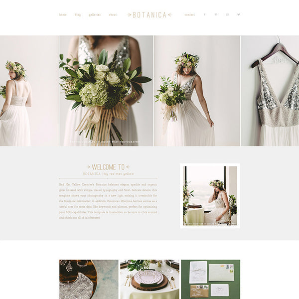Featured Product | BOTANICA PROPHOTO 5 TEMPLATE