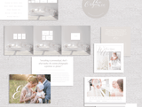 Client Welcome Packet & Marketing Set for Professional Photographers | The Organic Collection
