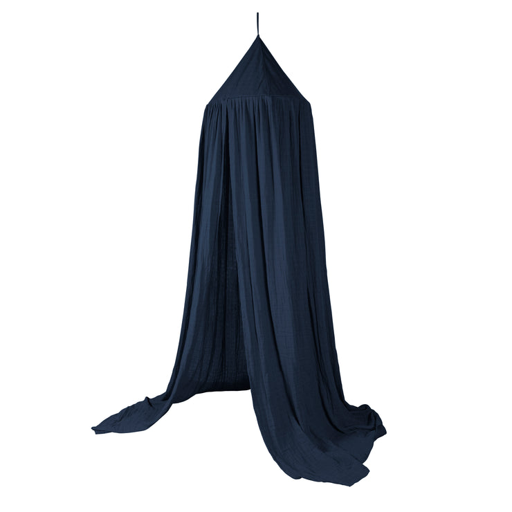 Royal Blue Organic Cotton Canopy