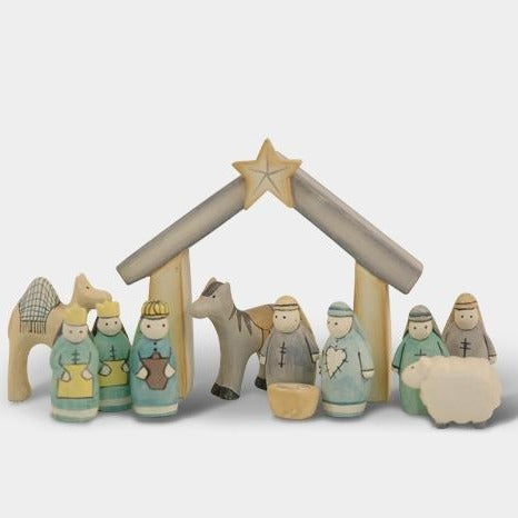 Nativity Set In Gift Box