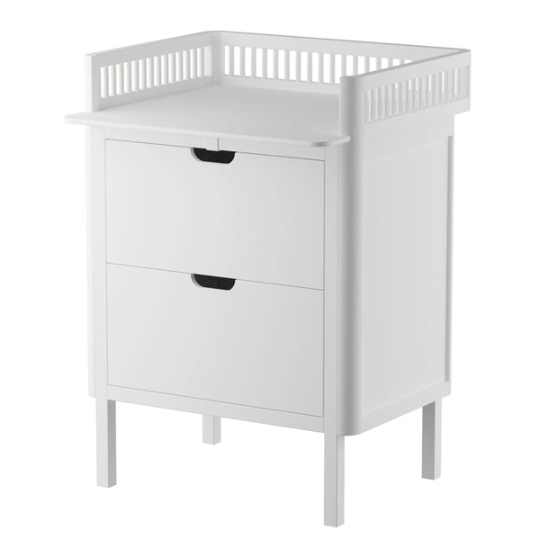 White Beech Wood Changing Unit