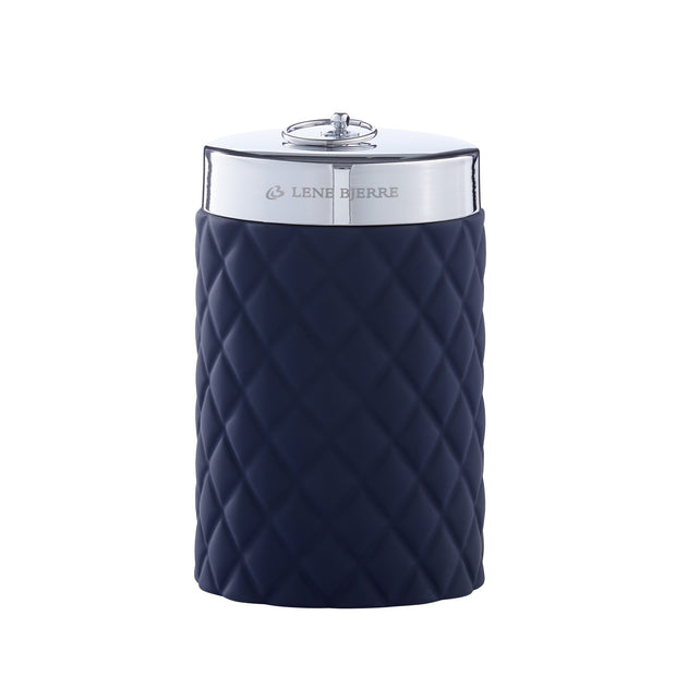 Maritime Blue Bathroom Storage Jar
