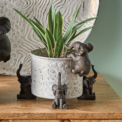 Trio of Elephant Pot Risers - PRE ORDER