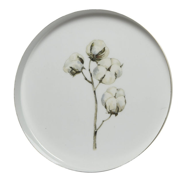 Decorative Enamel Plate