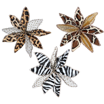 Animal Print Flower Pick