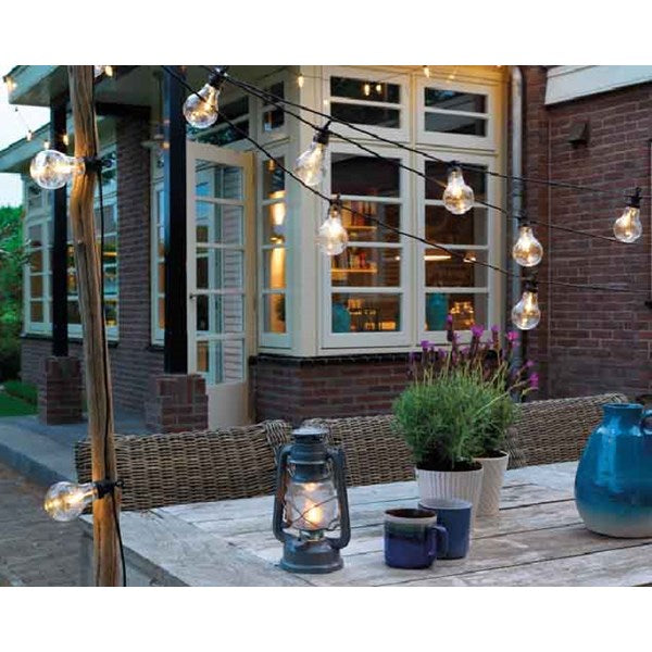 LED Outdoor Light Bulb String