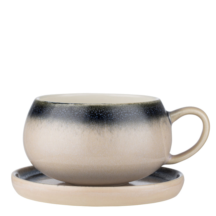 Two Tone Amara Cup And Saucer