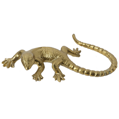 Gold Decorative Lizard