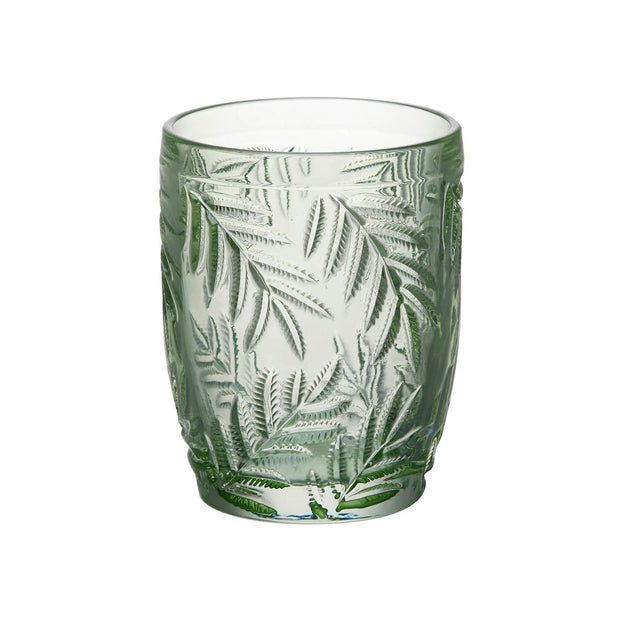 Pair Of Green Palm Leaf Tumblers