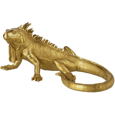 Gold Decorative Iguana