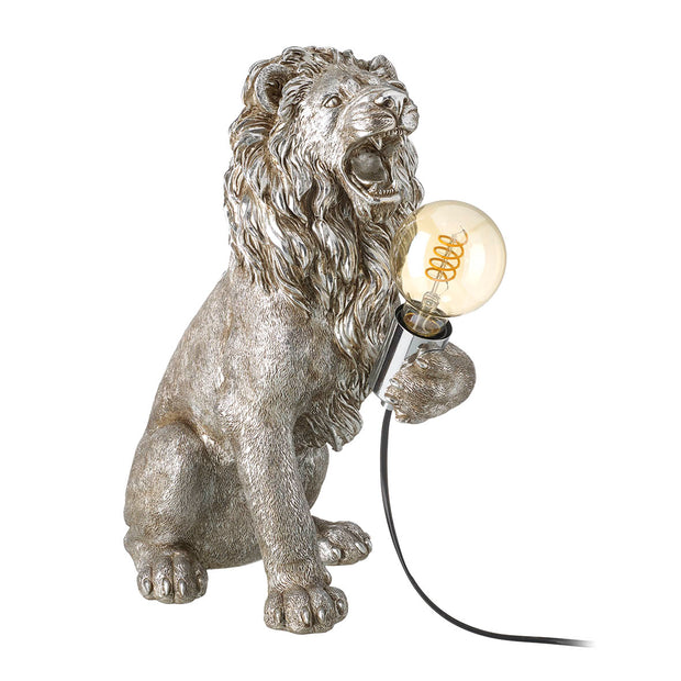 Platinum Lemmy The Lion Table Lamp