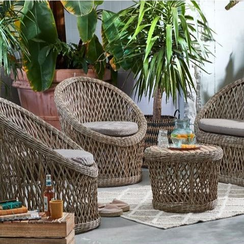 Fez Outdoor Chair And Table Set