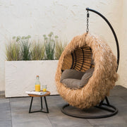 PRE-ORDER Indoor Outdoor Egg Chair Cover / Palm Leaf
