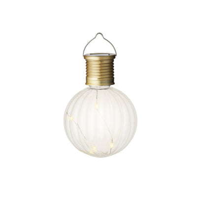 Clear LED Solar Light Bulb