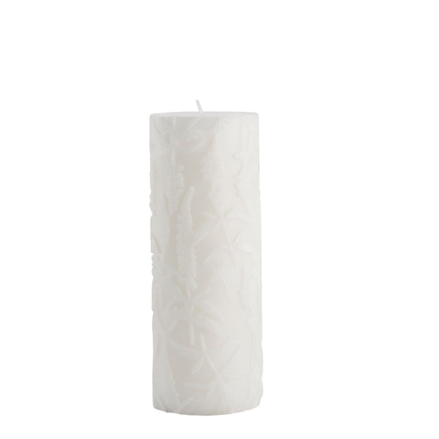 Ivory Meadow Flower Candle - PRE ORDER