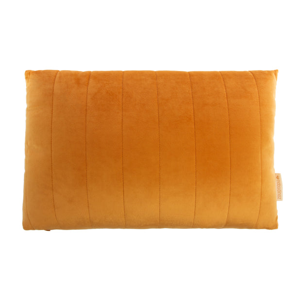 Farniente Yellow Akamba Velvet Cushion