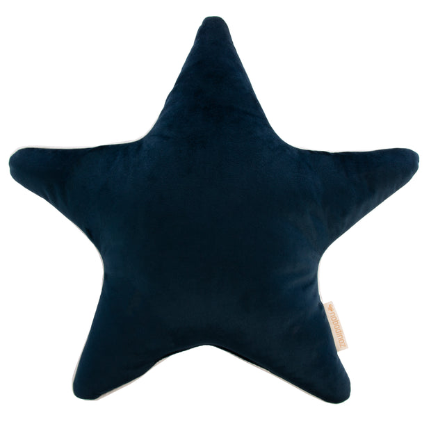 Night Blue Velvet Aristote Cushion