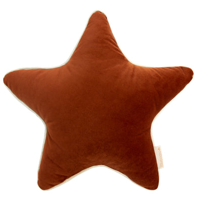 Wild Brown Velvet Aristote Cushion