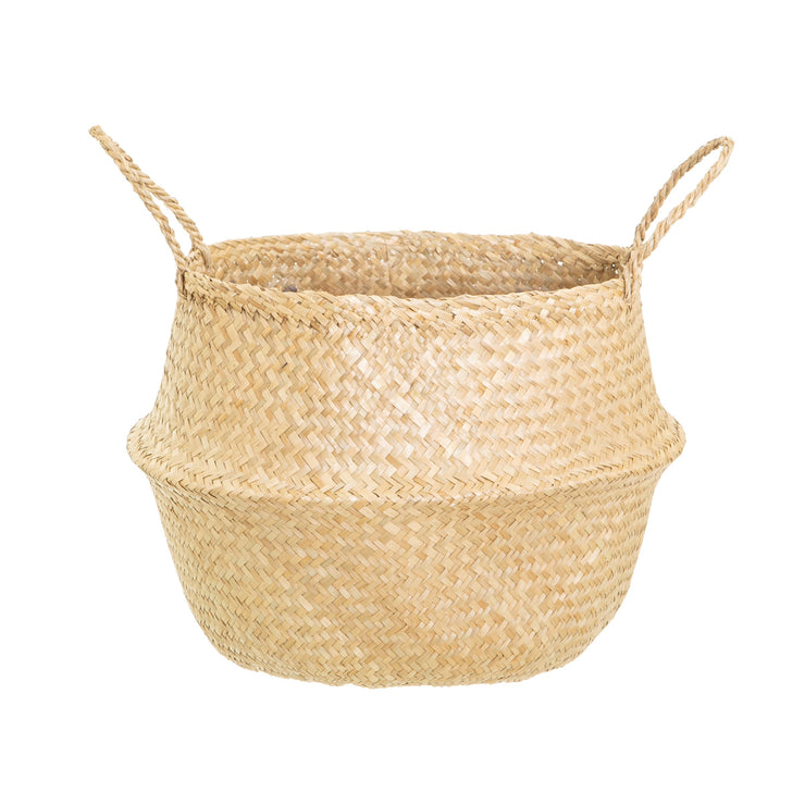 Baby Fox Seagrass Storage Basket