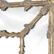Large Oak Leaf Gold Mirror