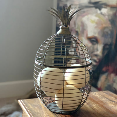 Pineapple Wire Basket