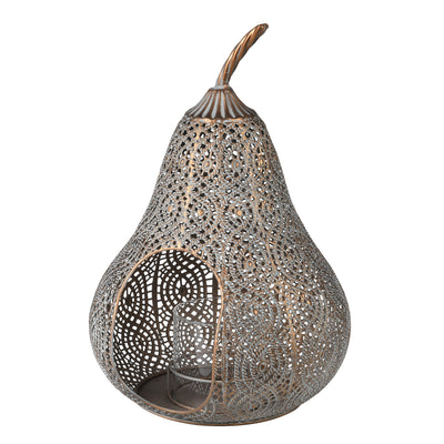 Filigree Pear Lantern