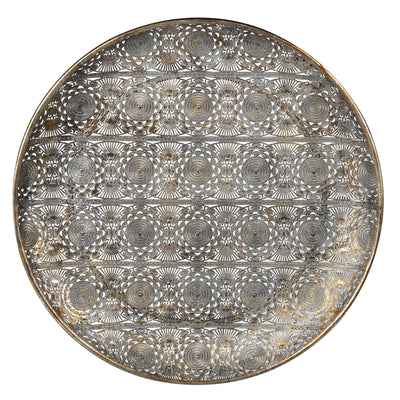 Round Filigree Tray