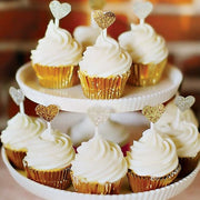 Gold Cupcake Cases