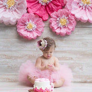 Pink First Birthday Crown