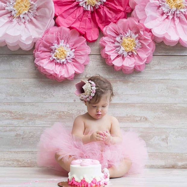 Pink Second Birthday Crown