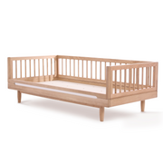 Solid Oakwood Junior Bed - By Nobodinoz
