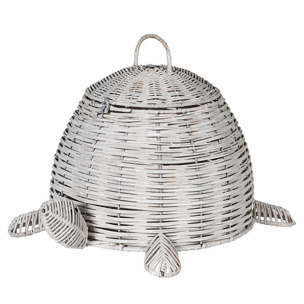 Turtle Rattan Basket