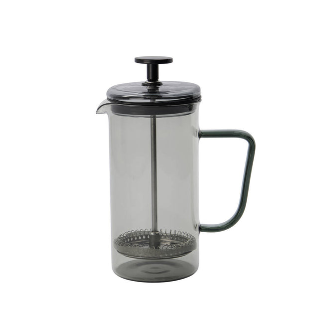 Smoked Grey Glass French Press