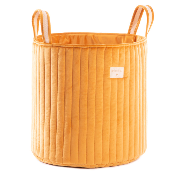 Farniente Yellow Savanna Velvet Toy Bag