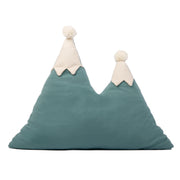 Nobodinoz Magic Green Snowy Mountain Cushion