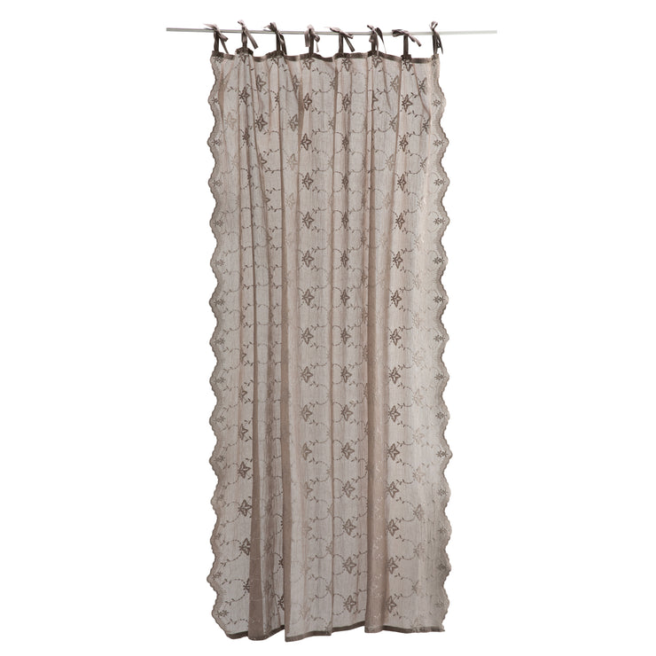 Adelia Scallop Edge Curtain