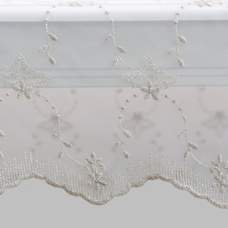 Handmade Ivory Almalia Tablecloth