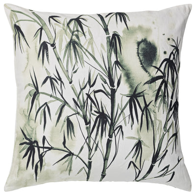 Green Bamia Bamboo Cushion