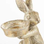 Pale Gold Easter Rabbit Votive - PRE ORDER