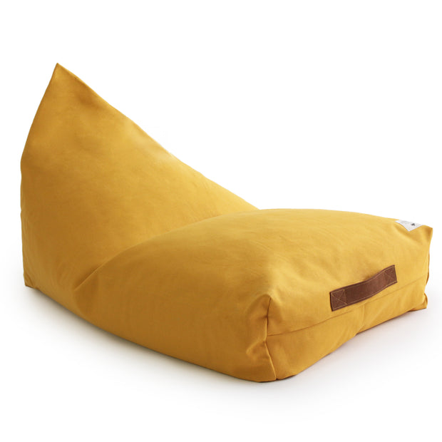 Farniente Yellow Oasis Beanbag - By Nobodinoz