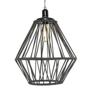 LED Solar Pendant Light - Black