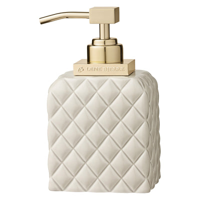 Harlequin Camel & Gold Soap Dispenser