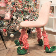 Pack of Four 'Elf Stocking ' Chair Leg Covers