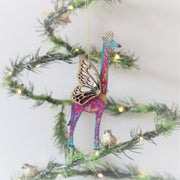 Fantasia Giraffe Christmas Decoration
