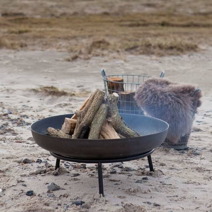Large Contemporary Fire Pit
