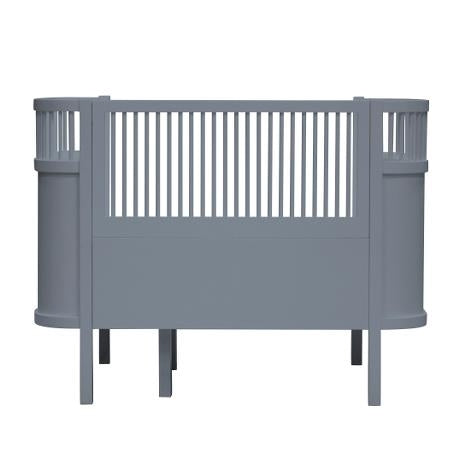 Grey Baby And Jr Bed