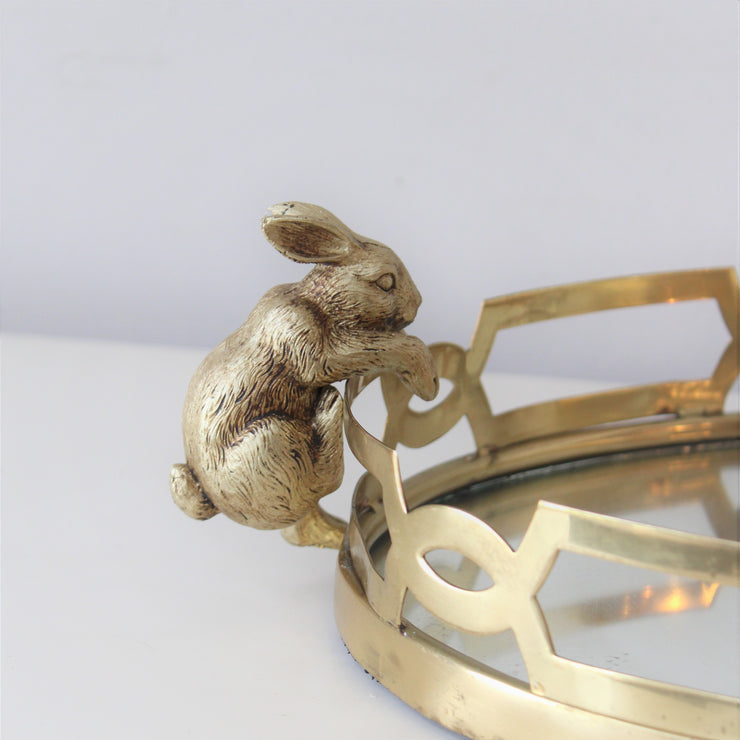Gold Rabbit Pothanger