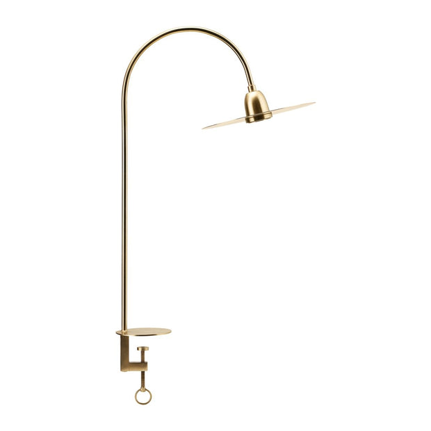 Elegant Brass Table Lamp