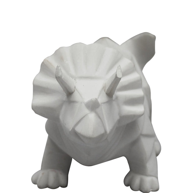 White Triceratops Nightlight